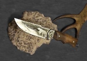 Ножи под заказ, Нож туристический Удачной охоты