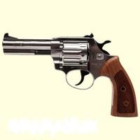 Револьвер флобера Alfa 441 Classic,никель,дерево
