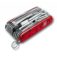 1.6795.XLT Нож Victorinox Swiss Champ XLT прозрач.красный