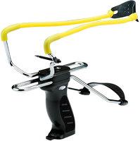 Рогатка Man Kung MK-SL06BK с упором,черный/желтый
