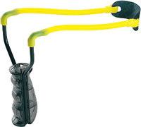 Рогатка Man Kung MK-T9, черный/желтый