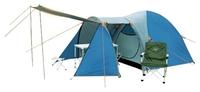 Палатка четырехместная Coleman X-1036