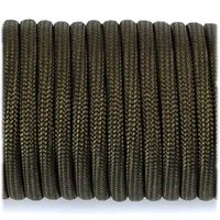 Паракорд, изделия из паракорда, Paracord Type III 550, army green #010