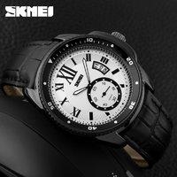 Часы Skmei 1135 Black Case White Dail BOX