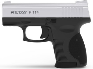 Retay, Пистолет стартовый Retay P 114 Nickel