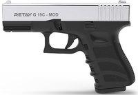 Пистолет стартовый Retay G19C Nickel