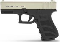 Пистолет стартовый Retay G19C Satin