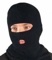 Шапка-маска с прорезями для глаз и рта