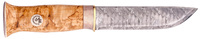 Нож Karesuandokniven Bjornen Damask 35140