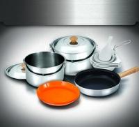 Туристический набор посуды Kovea VKC-ST08-45 Stainless L Cookware