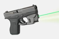 Целеуказатель LaserMax на скобу для Glock 42/43/43X/48 с фонарем (зеленый)