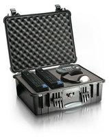 Прочный кейс для защиты аудио, фото, и видео аппаратуры Peli 1550