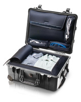 Бизнес-кейс со съемной сумкой для ноутбука, колесами и выдвижной ручкой Peli 1560LOC