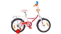 """Велосипеды Formula, Велосипед Formula FITNESS 14G 16"""" St бело-оранжевый"""