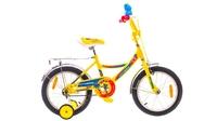 """Велосипед Formula FITNESS 14G 16"""" St сине-желтый"""