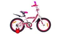 """Велосипеды Formula, Велосипед Formula PUMBA 14G 16"""" St бело-розовый"""
