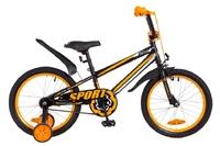 """Велосипед Formula SPORT 14G 18"""" St черно-оранжевый 2018"""