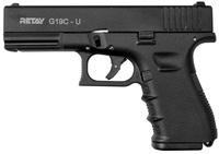 Пистолет стартовый Retay G19C Black