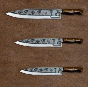 Ножи под заказ, Набор Поварской
