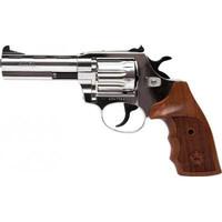 Револьвер флобера Alfa 441 никель, дерево