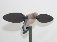 Голубь с вращающимися крыльями электро 6В