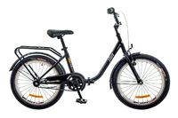"Велосипед Dorozhnik FUN 14G 20"" черно-оранжевый 2017"
