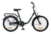 """Велосипед Dorozhnik FUN 14G 20"""" черно-салатный 2017"""