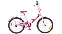 """Велосипед Formula FITNESS 14G 12"""" St бело-розовый"""
