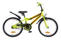 """Велосипед Formula RACE 14G 20"""" St зелено-оранжевый с крылом Pl 2018"""