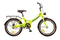 """Велосипед Formula SMART 14G 20"""" St лайм с багажником и корзиной"""