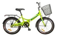 """Велосипед Formula SMART 14G 20"""" St лайм с багажником и фонарем"""