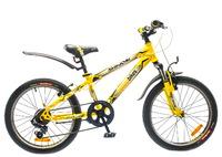 """Велосипед Optimabikes SHINOBI AM 20"""" St черно-желтый 11"""""""