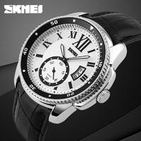 Часы Skmei 1135 Silver Case White Dail BOX