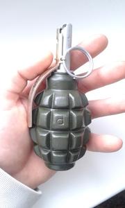 Макеты массогабаритные, ММГ граната Ф-1 копия из тяжелого пластика