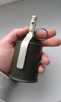 Макеты массогабаритные, ММГ граната РГ-42 копия из тяжелого пластика