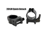 Крепление Warne Quick Detach Ring 2,54см. medium стальное