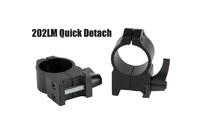 Кольцa быстросъемные Warne MAXIMA Quick Dedach Rings 25,4 мм High