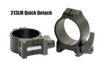 Кольцa быстросъемные Warne MAXIMA Quick Dedach Rings 30 мм Low