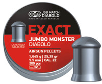 Пули JSB Exact Jumbo Monster 5,52мм 1.645(200)