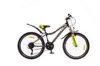 """Велосипеды Formula, Велосипед Formula FOREST AM 14G 24"""" St черно-зеленый"""