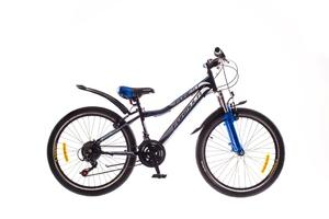"""Велосипеды Formula, Велосипед Formula FOREST AM 14G 24"""" St черно-синий"""