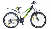 """Велосипеды Formula, Велосипед Formula FOREST AM 14G 24"""" St бело-черно-зеленый"""