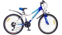 """Велосипеды Formula, Велосипед Formula FOREST AM 14G 24"""" St бело-синий"""