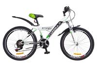 Велосипед Formula STORMY AM 14G Vbr St бело-зеленый 2018