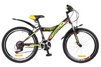 Велосипед Formula STORMY AM 14G Vbr St черно-желтый 2018