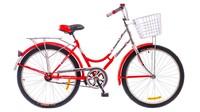 """Велосипед Дорожник ЛАСТОЧКА 14G St 24"""" красный"""