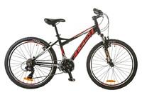 Велосипед Leon JUNIOR AM 14G Vbr 14.5 Al чёрно-красный 2017