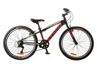 Велосипед Leon JUNIOR 14G Vbr 11.5 Al чёрно-красный 2017