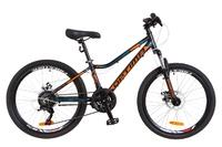 "Велосипед Optimabikes BLACKWOOD DD 24"" Al черно-оранжево-синий 2018"