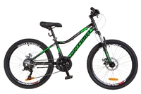 "Велосипед Optimabikes BLACKWOOD DD 24"" Al черно-зеленый 2018"